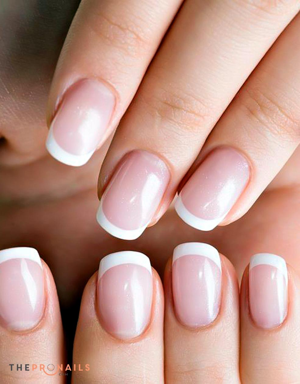Nails Express | Pink and White Fill In